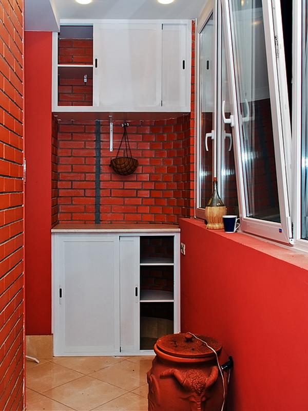 Готовые шкафы на балкон в москве..